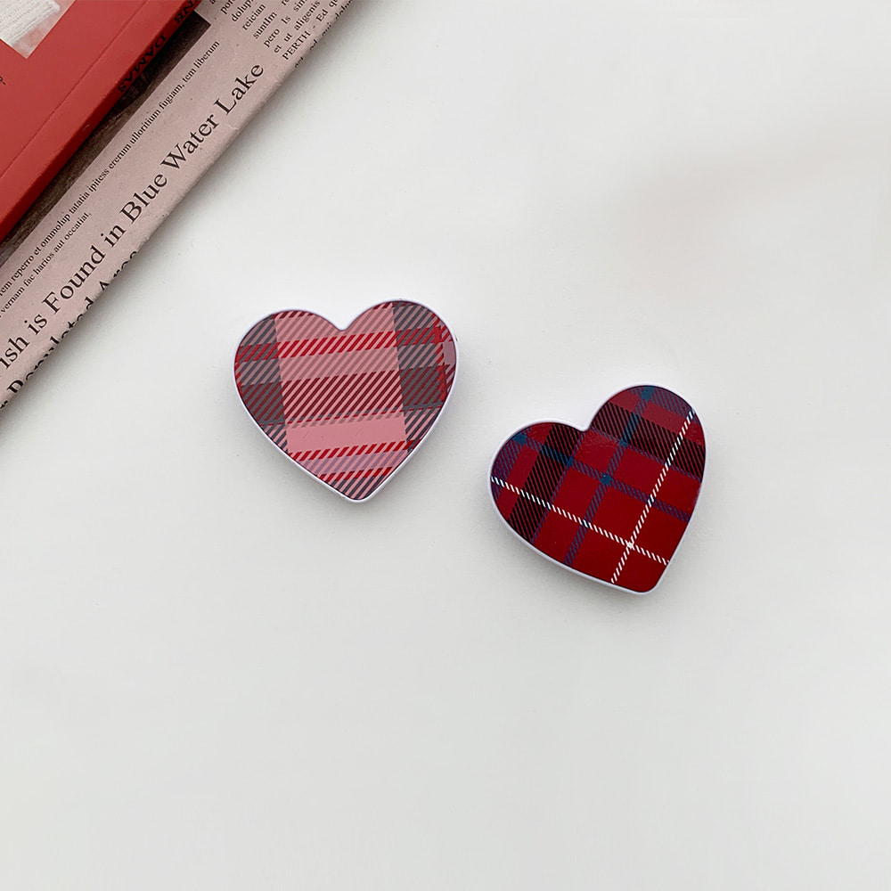Check pattern series Heart ♥madetok 하트톡